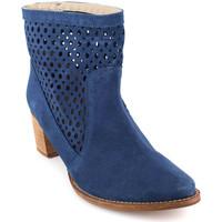 Chaussures Femme Bottines J.bradford JB-SOFIA BLEU Bleu