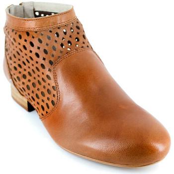 Chaussures Femme Bottines J.bradford JB-JADE CAMEL Marron