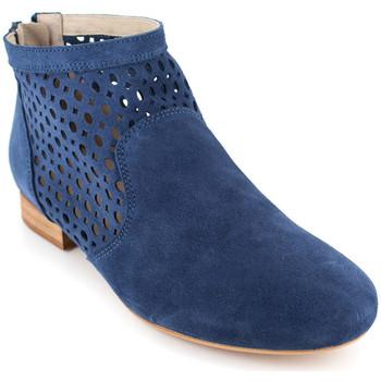 Chaussures Femme Bottines J.bradford JB-JADE Bleu Bleu