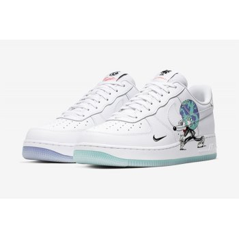 Chaussures Baskets basses Nike Air Force 1 Earth Day White