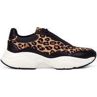 Chaussures Femme Baskets basses Ed Hardy - Insert runner-wild black/leopard Noir