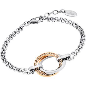 Montres & Bijoux Femme Bracelets Lotus Bracelet  Colelction Urban Woman double anneaux Blanc