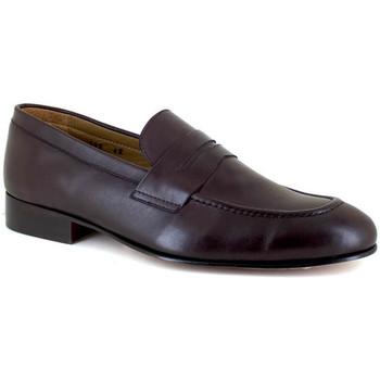 Chaussures Homme Mocassins J.bradford JB-NIQUEL MARRON Marron