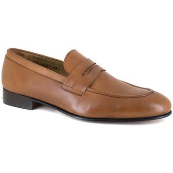 Chaussures Homme Mocassins J.bradford JB-NIQUEL CAMEL Marron