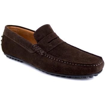 Chaussures Homme Mocassins J.bradford JB-AITOR Marron Marron
