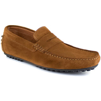 Chaussures Homme Mocassins J.bradford JB-AITOR cognac Marron