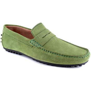 Chaussures Homme Mocassins J.bradford JB-AITOR VERT Vert