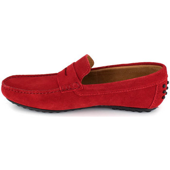 Chaussures Homme Mocassins J.bradford JB-AITOR rouge Rouge