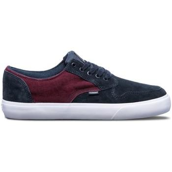 Chaussures Homme Chaussures de Skate Element TOPAZ C3 navy napa Bordeau
