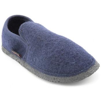 Chaussures Homme Chaussons Giesswein niederthal Bleu
