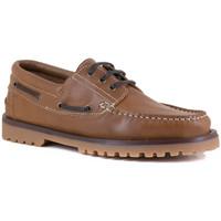 Chaussures Homme Chaussures bateau J.bradford JB-ESCUDO COGNAC Marron