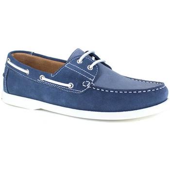 Chaussures Homme Chaussures bateau J.bradford JB-POUPE BLEU JEANS Bleu