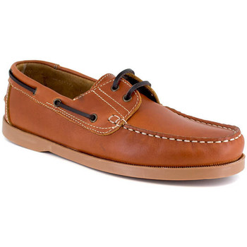 Chaussures Homme Chaussures bateau J.bradford JB-CANOA COGNAC Marron