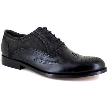 Chaussures Homme Richelieu J.bradford JB-KINGSTON NOIR-GRIS Noir