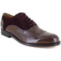Chaussures Homme Richelieu J.bradford JB-KINGSTON MARRON-BORDEAUX Marron