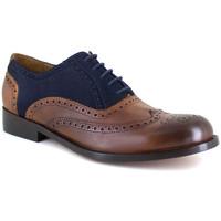 Chaussures Homme Richelieu J.bradford JB-KINGSTON CAMEL-BLEU Marron