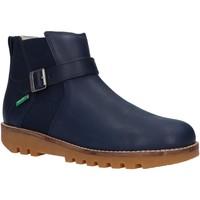 Chaussures Garçon Boots Kickers 829850 NEWBOOT Azul