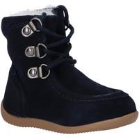 Chaussures Garçon Bottes de neige Kickers 571933-10 BAMARA-2 Azul