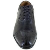Chaussures Homme Richelieu J.bradford JB-SARDEGNA CROCO NOIR Noir
