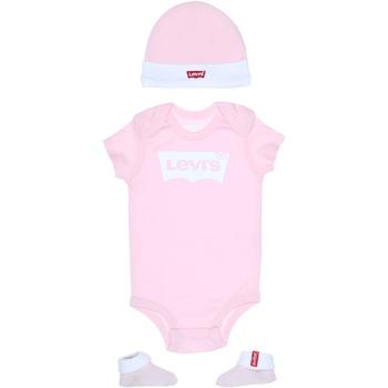 Vêtements Fille Ensembles enfant Levi's Ensemble bébé logotypé Rose