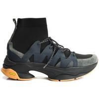 Chaussures Homme Baskets montantes Cerruti 1881  Bleu