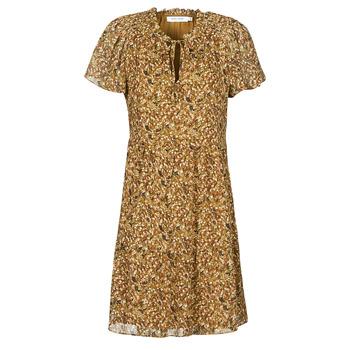 Vêtements Femme Robes courtes Naf Naf MARIA R1 Camel