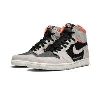 Chaussures Baskets montantes Nike Air Jordan 1 High Hyper Crimson Neutral Grey/Hyper Crimson-White-Black