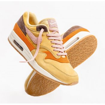 Chaussures Baskets basses Nike Air Max 1 Bacon Wheat Gold Rust Pink-Baroque Brown