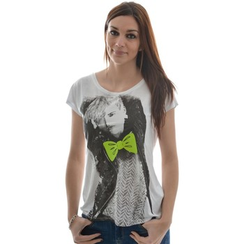 Vêtements Femme T-shirts manches courtes Only 15084698 - funny celebrity blanc