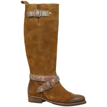 Chaussures Femme Bottes Libre Comme l'Air ANNY taupe mogano