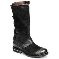 Chaussures Femme Boots Airstep / A.S.98 TEAL Noir