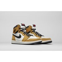 Chaussures Baskets montantes Nike Air Jordan 1 High Rookie Of The Year Gold Harvest/Black