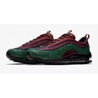 Chaussures Baskets basses Nike Air Max 97 NRG Midnight Spruce  Team Red/Midnight Spruce