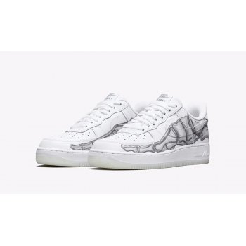 Chaussures Baskets basses Nike Air Force 1 Low Skeleton