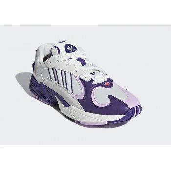 Chaussures Baskets basses adidas Originals Yung 1 x DBZ Frieza Cloud White/Unity Purple-Clear Lilac