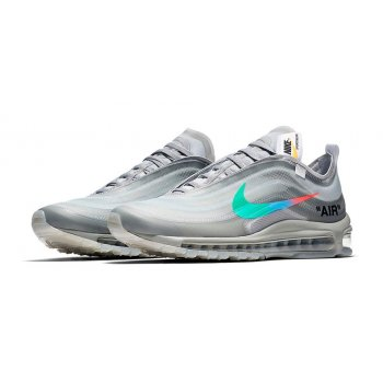 Chaussures Baskets basses Nike Air Max 97 x Off Whte