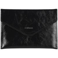 Sacs Femme Porte-Documents / Serviettes Etrier Porte-papiers Etincelle cuir ETINCELLE IRISEE 080-0EETI054 NOIR(E)