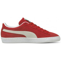 Chaussures Homme Baskets basses Puma Basket  SUEDE Rouge
