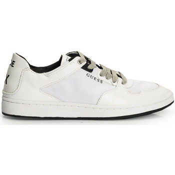 Chaussures Homme Baskets basses Guess  Blanc
