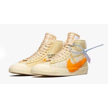Chaussures Baskets montantes Nike Blazer Mid x Off White
