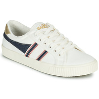 Chaussures Femme Baskets basses Gola TENNIS MARK COX SELVEDGE Blanc / Bleu
