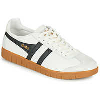 Chaussures Homme Baskets basses Gola HURRICANE LEATHER Blanc / Noir