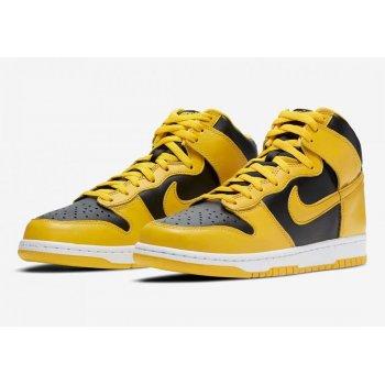 Chaussures Baskets montantes Nike SB Dunk High Varsity Maze Black/Varsity Maize