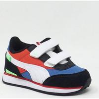 Chaussures Baskets basses Puma FUTUR RIDER PS VELCRO BLEU Rouge