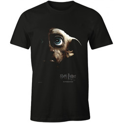 Vêtements T-shirts manches courtes Harry Potter T-shirt  - Dobby in The Dark Noir