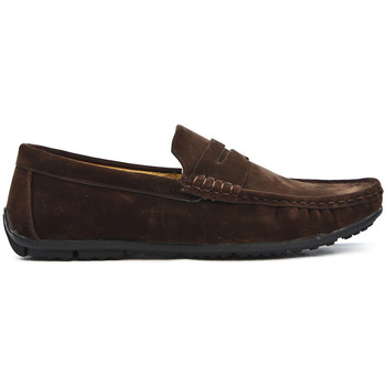 Chaussures Mocassins Uomo Design Mocassin simple homme Marvin cafe
