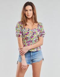 Vêtements Femme Tops / Blouses Yurban OPEET Blanc / Multico