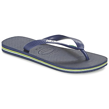 Chaussures Tongs Havaianas BRASIL LOGO Marine