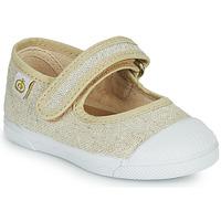 Chaussures Fille Ballerines / babies Citrouille et Compagnie APSUT Beige