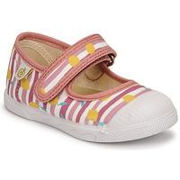 Chaussures Fille Ballerines / babies Citrouille et Compagnie APSUT Rose imprimé
